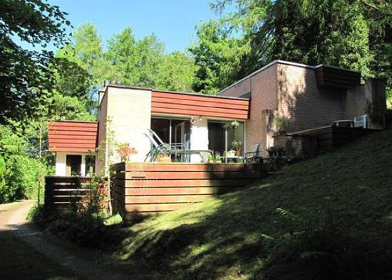On the market: 1960s Nimbus three-bedroom modernist property in Melrose, Scottish Borders