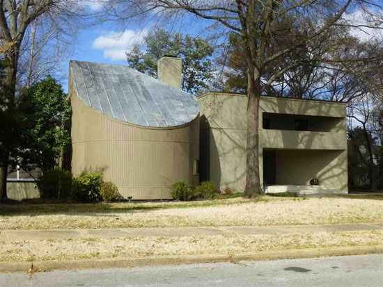On the market: 1970s four-bedroom modernist property in Memphis, Tennessee, USA