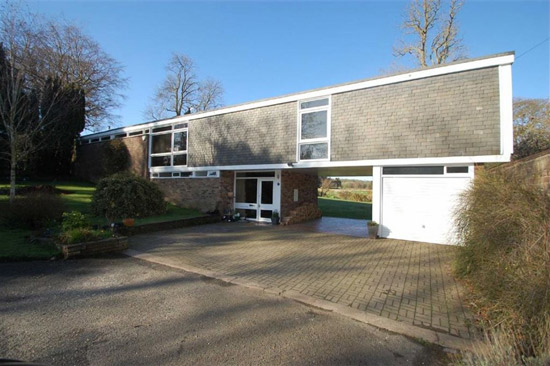 On the market: 1960s Mervyn Seal-designed Bridge House in Shrewsbury, Shropshire