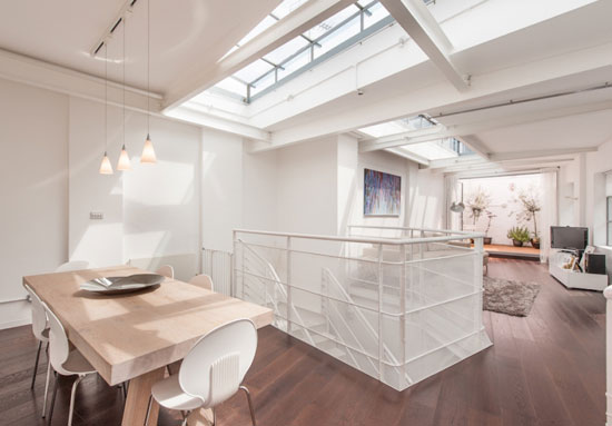 On the market: Michael Feldman-designed three-bedroom industrial conversion in Tufnell Park, London N19