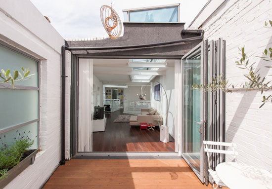 Michael Feldman-designed three-bedroom industrial conversion in Tufnell Park, London N19