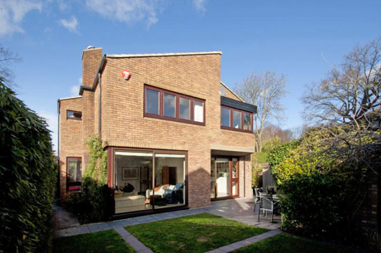 On the market: 1970s Ted Levy-designed four bedroom house in London N6