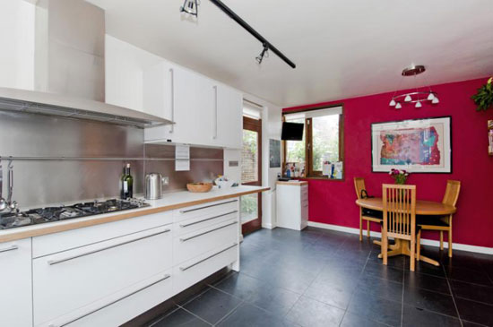 1970s Ted Levy-designed four bedroom house in London N6