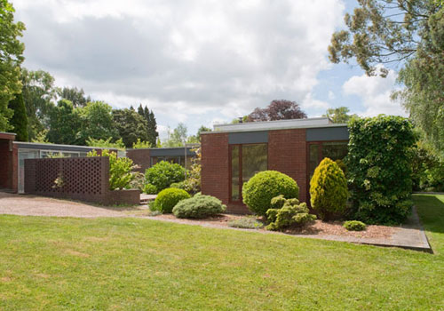 On the market: 1960s Leonard Manasseh-designed four-bedroomed house in Hadlow Down, East Sussex