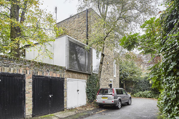 1960s John Winter modernist mews house in London NW1