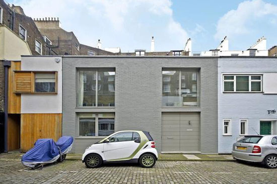 On the market: Three-bedroom modernist mews house in Lancaster Gate, London W2
