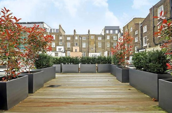 Three-bedroom modernist mews house in Lancaster Gate, London W2