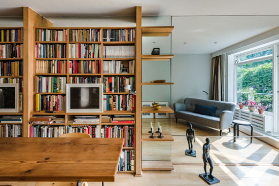 1960s midcentury modern townhouse in London W2