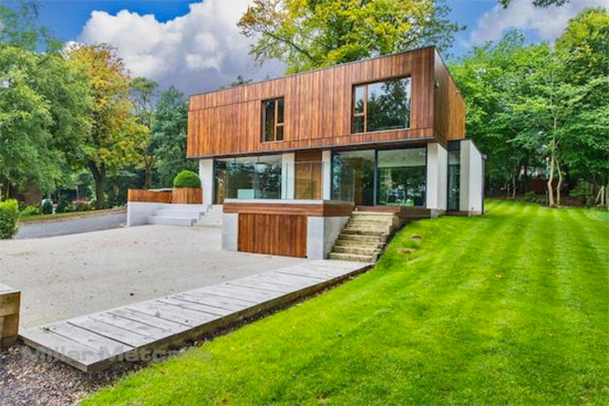 Four-bedroom contemporary modernist property in Bolton, Lancashire