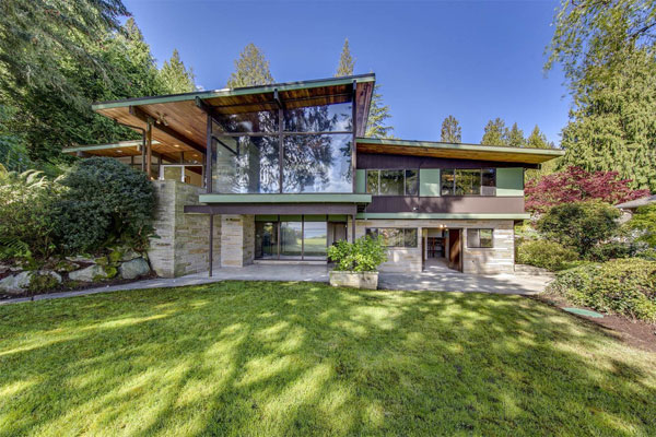 1950s Midcentury Modern Four Bedroom Property In Bainbridge Island Washington Usa