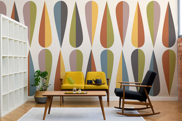 Design Icons wall coverings at Murals Wallpaper