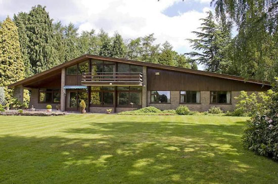 1960s John Madin-designed Juniper Hill midcentury modern property in Lapworth, West Midlands