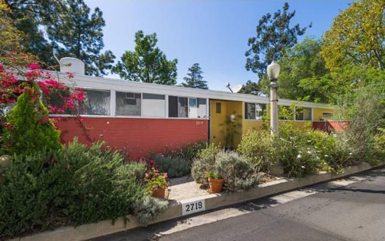 Three-bedroom 1950s midcentury modern property in Los Angeles, California, USA