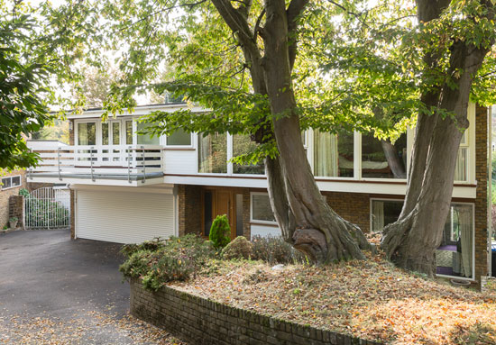 On the market: 1970s B. J. Duffy-designed midcentury modern property in Welwyn, Hertfordshire