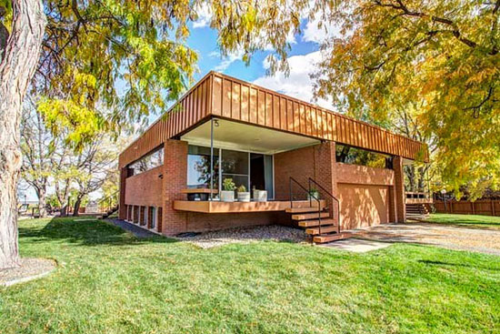 On the market: 1960s James Ream-designed midcentury property in Wheat Ridge, Colorado, USA