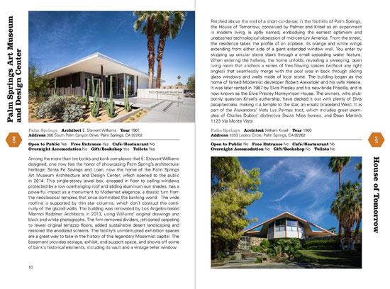 Mid-Century Modern Architecture Travel Guide: West Coast USA (Phaidon)