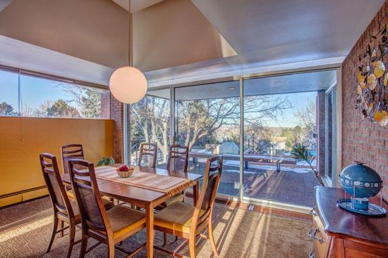 1960s James Ream-designed midcentury property in Wheat Ridge, Colorado, USA