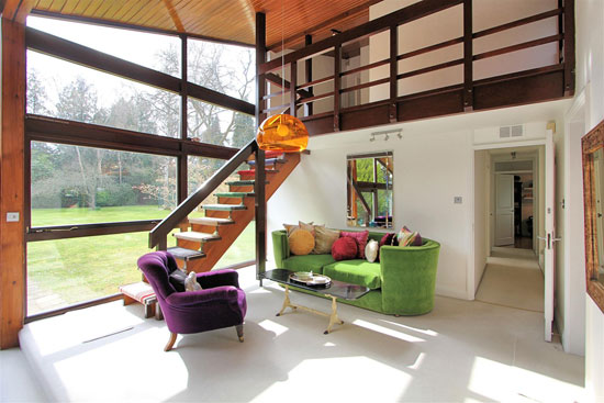 1960s midcentury modern house in Woodham, Surrey