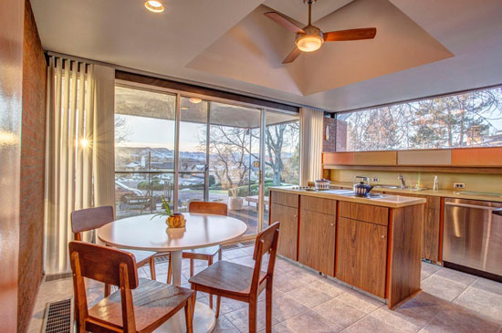 1960s James Ream-designed midcentury property in Wheat Ridge, Colorado, USA
