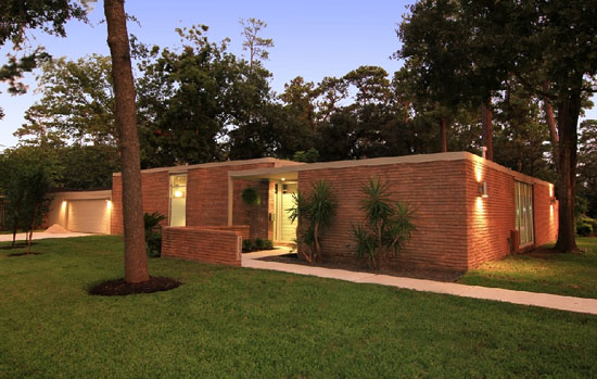 On the market renovated midcentury modern two bedroom for Modern houses in houston