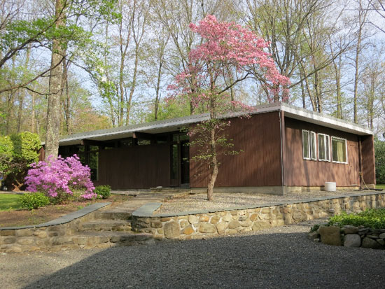 On the market: Three-bedroom midcentury modern property in Ramapo, Rockland County, New York State, USA