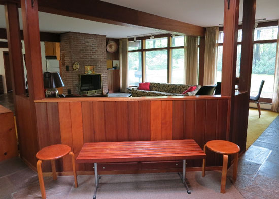 Three-bedroom midcentury modern property in Ramapo, Rockland County, New York State, USA