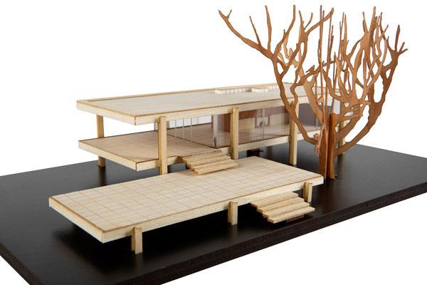 42. Wooden architecture kits by Modern Landmarks