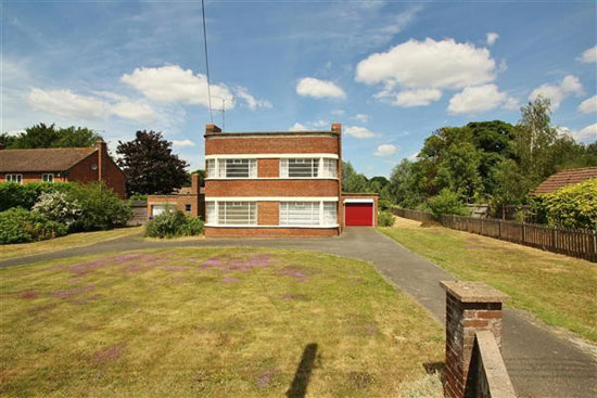 On the market: Unrestored 1930s art deco property in Mildenhall, Suffolk