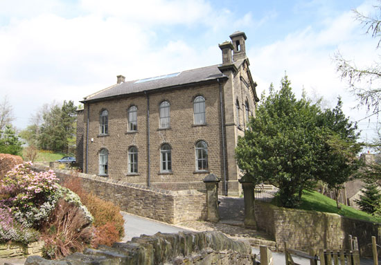 Period conversion for sale: The Old Chapel in Sowerby Bridge, West Yorkshire