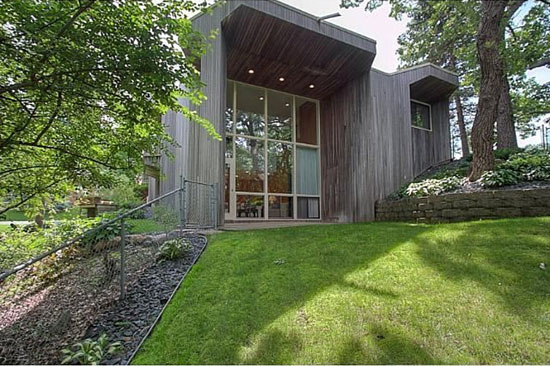 On the market: 1960s James Stageberg-designed midcentury modern property in Edina, Minnesota, USA