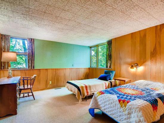 1950s Bergstedt & Hirsch midcentury modern house in Saint Paul, Minnesota, USA