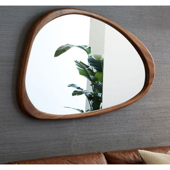 Design spotting: Mid-Century Asymmetrical Wall Mirror at West Elm