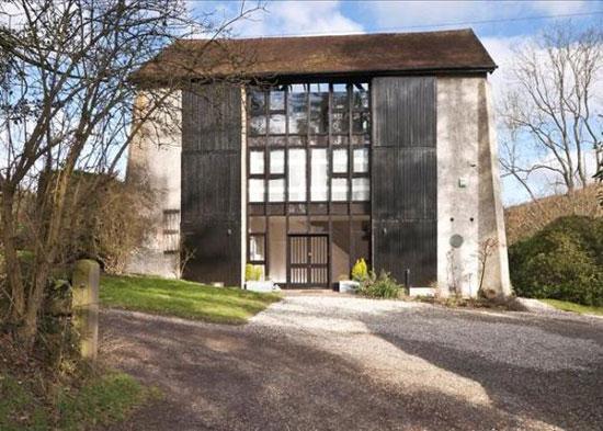 On the market: Grade II-listed former sculptor's studio in Prestwood, Great Missenden, Buckinghamshire