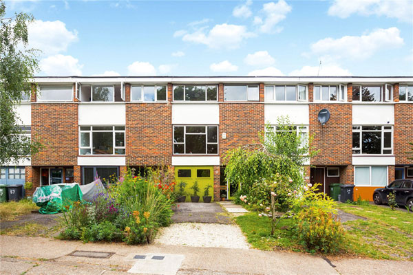 1960s modern townhouse in London SE23