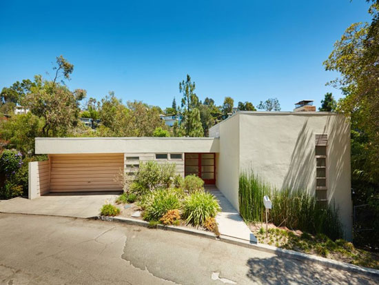 On the market: 1930s Ansalem A. Ernst House by Gregory Ain in Los Angeles, California, USA