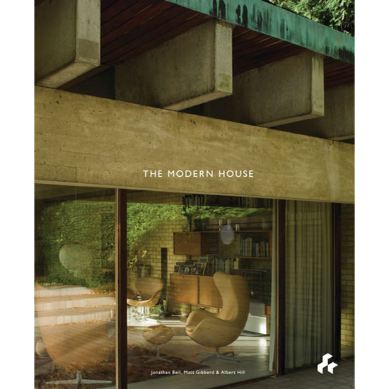 On the shelves: The Modern House book
