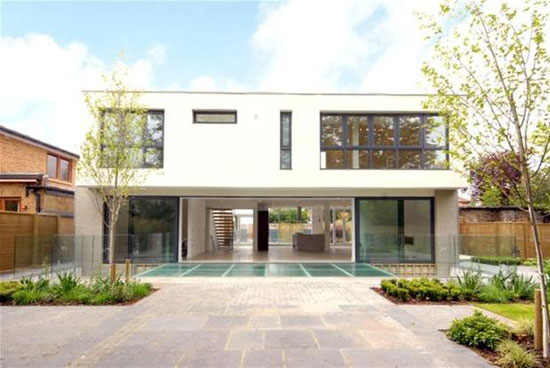 On the market: Six-bedroom contemporary modernist property on the Cator Estate, Blackheath, London SE3