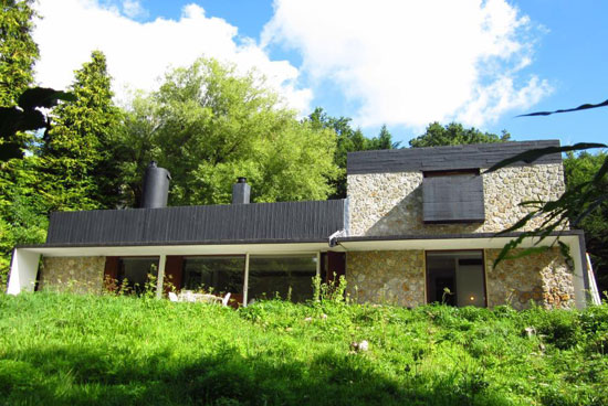 On the market: 1950s Andre Wogenscky-designed modernist property in Saint-Forget, Ile-de-France, France