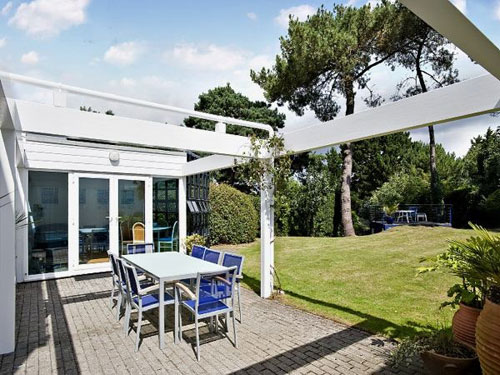 Five-bedroomed modernist-inspired house in Sandbanks, Poole, Dorset