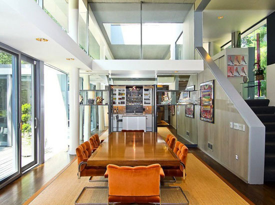 1970s Hartman-Cox-designed modernist property in Potomac, Maryland, USA