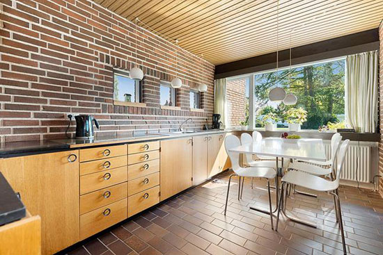 1970s modernist property in Munkebo, Denmark