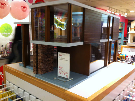 Modernist doll's houses by Manhattan Dollhouse