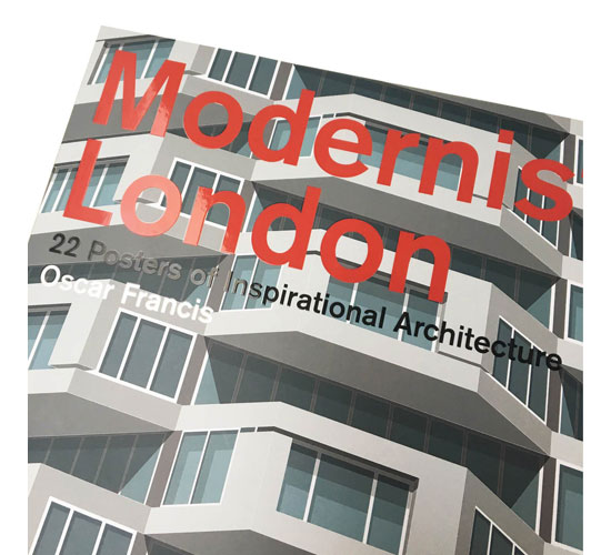 Out now: Modernist London poster book by Sarah Evans