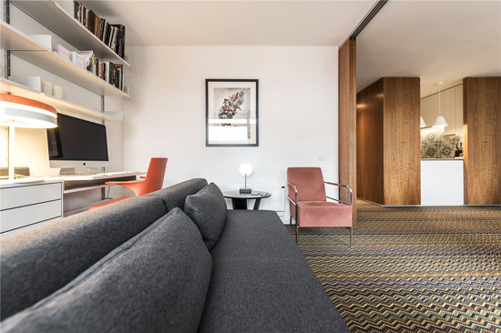 Barbican living: One-bedroom apartment in Thomas More House on the Barbican Estate, London EC2Y