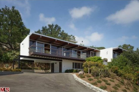 On the market: 1960s Richard Neutra-designed Linn Residence in Los Angeles, California