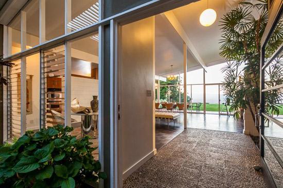 1950s Edward Fickett-designed midcentury modern property in Los Angeles, California, USA