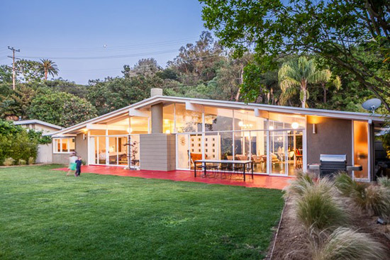 On the market: 1950s Edward Fickett-designed midcentury modern property in Los Angeles, California, USA