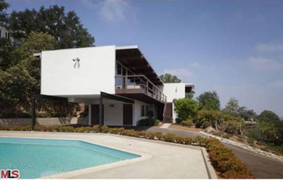 1960s Richard Neutra-designed Linn Residence in Los Angeles, California