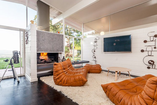 1950s Edward Fickett-designed midcentury modern property in Los Angeles, California, USA