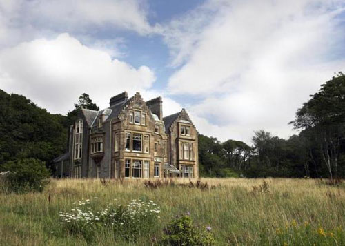 14-bedroom Ronachan House stately home in Ronachan, Tarbert, Argyll and Bute